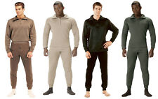 Rothco Extreme Cold Weather Polypropylene Long John Underwear With Zip Collar