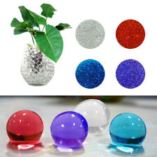 10 PACKS Water Plant Flower Jelly Crystal Soil Mud Water Pearls Gel Beads Balls