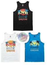 NEW Quiksilver Easy Take to the Beach Shirt Mens Tank Top