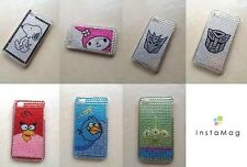 Cartoon Style Crystal Rhinestone Bling Case for Apple iphone 4G / 4S (7 Styles)