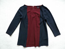 NWT TOMMY HILFIGER WOMENS COLORBLOCKED SHIRT
