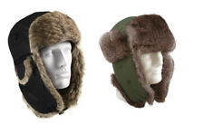 Rothco Winter Bomber Hat Warm Aviator Fur Flyer's Trapper Cap