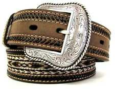 Nocona Double Stitched Horsehair Belt N2487644