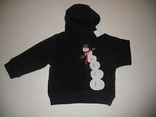 Gymboree Snow Chillin Baby Boys size 3 6 9 12 m Fleece Sweatshirt NWT HOLIDAYS