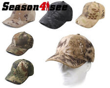 6 Colors Outdoor Airsoft Tactical Man Military Chief Adjustable Baseball Hat Cap