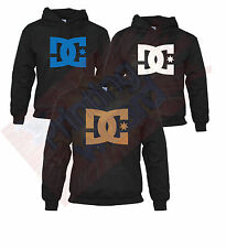 DC Hoodie Hooded Sweatshirt Pullover Skate Hoody Jumper Mens Boys Sports Casual