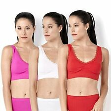 Slim 'n Lift Deluxe Aire Bra with Lace & Padding Red, Pink or Hot Pink New