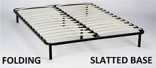 Slatted Folding Guest Bed/Bed Base in 150 x 200 cm King size - FREESTANDING