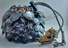 The Weyr Dice Bag (Scalemail, chainmail, chainmaille, chain maille scale )
