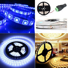 1M 3M 5M 3528 60LEDs/m Flexible LED Strip Lights Roll Rope Tape Kitchen Cupboard