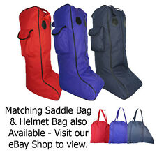 Horse Riding Boot Carry Case Heavy Duty Fishing Wellington Country Long Boot Bag