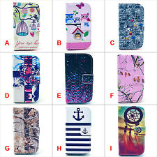 Hybrid Flip Wallet card slot PU Leather Stand Case Cover Skin for Phones #Ⅳ