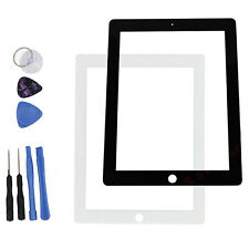 New Outer Screen Glass Front Lens Glass Replacement for Apple iPad2/3/4 +Tools
