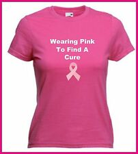 Wear It Pink T shirt Cancer Research Breast Cancer October Awareness