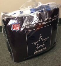 Authentic NFL Dallas Cowboys  Blanket Available in Kings or Queens