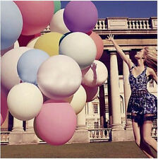 "10Color 36"" Inch Giant Big Ballon Latex Birthday Wedding Party Helium Decoration"