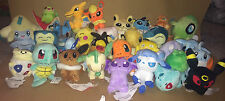 Pokemon Plushes - Your Choice of 32 Different Pokemon Soft Toys - BRAND NEW