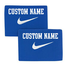 Custom NIKE ID Guard Stay (Stretch Bands for Securing Shinguards) Blue