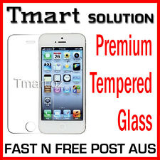 Premium Tempered Glass Screen Protector Apple iPhone SE 5 5S 5C or Matte iP4 4S