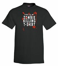 Zombie Killing T-Shirt,zombies,halloween,tee,funny