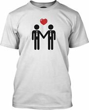 Big Texas Same Sex Couple Organic Fine Jersey T-Shirt