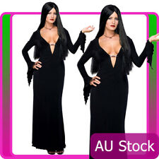 The Addams Family Morticia Adult Rubies Licensed Costume Fancy Dress Halloween