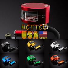 For KTM 990 Superduke RC8/R 7 Color Universal Brake Tank Oil Fluid Reservoir Cup