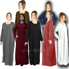 "Ladies Traditional Plain Abaya/ Borka in Length 52"" 54"" 56"" 58"" (4 Colours)"