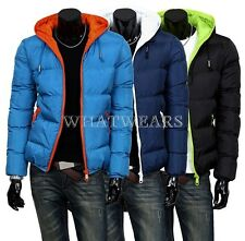 2014 Mens Winter Jacket Hooded Wadded Coat Thickening Outerwear Male Slim SHO