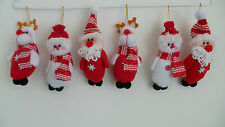 CUTE CHRISTMAS TREE HANGING DECORATIONS SOFT CHRISTMAS CHARACTER TREE ORNAMENTS