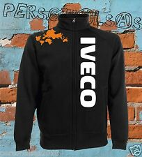 IVECO GIACCHINO sweat jacket logo vertical tuning truck tir camion holland style