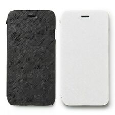 "Zenus Minimal Diary Genuine Saffiano Leather Cover Case for iPhone 6S 6 (4.7"")"