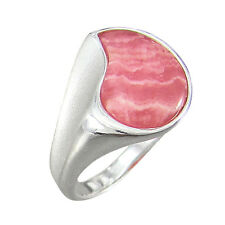 Rhodochrosite Ring Silver 925 - Dynamic - Size Selectable (7533)