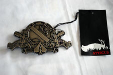 Atticus - Prime Belt Buckle, blink 182, emo, punk, Atticus, new, dead bird