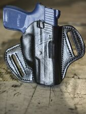 Sig Sauer P250 Sub Compact | OUTBAGS Genuine Leather OWB Pancake Belt Holster
