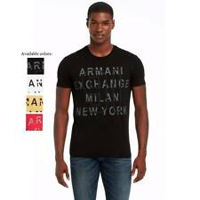 New Armani Exchange AX Mens Muscle Slim Fit Hertiage Tee Shirt g6x767