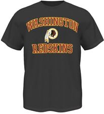 Washington Redskins Majestic NFL Heart & Soul III Charcoal Men's T-Shirt
