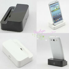 New USB Data Sync Dock Station Charger Cradle f. Samsung Galaxy S3 3 i9300 SIII