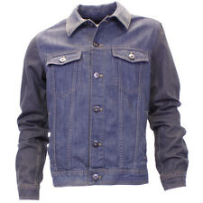 Mens American Rag Vintage Style Metal Button Front Casual Denim Jacket