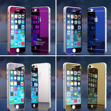 Tempered Glass Back + Front  Film Screen Protector For iPhone 6  /6 Plus / 5 5S