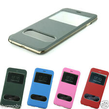 FLIP WALLET S-VIEW WINDOW PU LEATHER CASE COVER FOR APPLE NEW IPHONE 6 PLUS 5.5'
