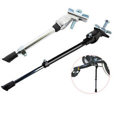 HEAVY DUTY BIKE BICYCLE KICK STAND ADJUSTABLE RUBBER FOOT FRAME FITTING