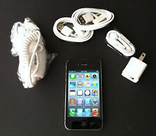 iPhone 4S 8GB 16GB iOS 7 or 8 Straight Talk TMobile UNLOCKED Black White