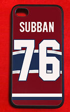 P.K. Subban Montreal Canadiens IPhone 4/4s 5/5s Case Cover