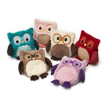 Intelex Hooty Heatable Plush Owl Fully Microwavable Soft Toy Microwave Heat Pack