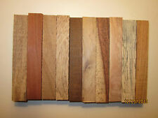 "WOOD PEN BLANKS 5"" X 3/4"" X 3/4"".CHOOSE FROM 29 SPECIES. SELECT QUANTITY"