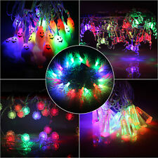 20 Bulbs Lamps RGB Colorfully Christmas Wedding Decoration LED String Rope Light
