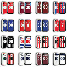 Personalised Football Shirt Style iPhone 5/5s Phone Cover Cases - Premier