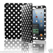 Magnetic PU Leather Polka Smart Cover Case Apple iPad 2 3 New