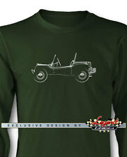 Volkswagen Dune Buggy Long Sleeves T-Shirt - Multiple Colors and Sizes - VW Car